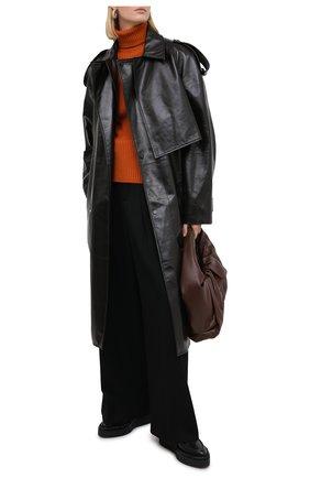 Женская кашемировая водолазка LORO PIANA оранжевого цвета, арт. FAL3580   Фото 2 (Материал внешний: Кашемир, Шерсть; Длина (для топов): Стандартные; Рукава: Длинные; Женское Кросс-КТ: Водолазка-одежда; Стили: Кэжуэл)