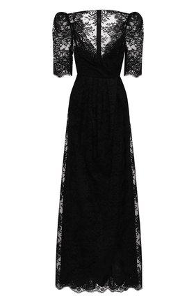 Женское платье DOLCE & GABBANA черного цвета, арт. F6K1ST/HLM3D | Фото 1