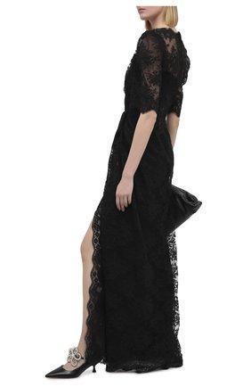 Женское платье DOLCE & GABBANA черного цвета, арт. F6K1ST/HLM3D | Фото 2