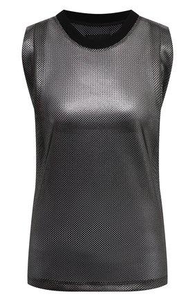 Женский топ RTA серебряного цвета, арт. WF0553-7123SLVM | Фото 1