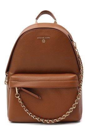 Женский рюкзак slater medium MICHAEL MICHAEL KORS коричневого цвета, арт. 30T0G04B1L | Фото 1