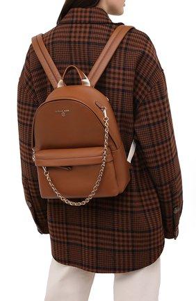 Женский рюкзак slater medium MICHAEL MICHAEL KORS коричневого цвета, арт. 30T0G04B1L | Фото 2