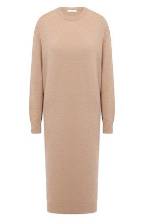 Женское кашемировое платье THE ROW светло-коричневого цвета, арт. 5337F377 | Фото 1