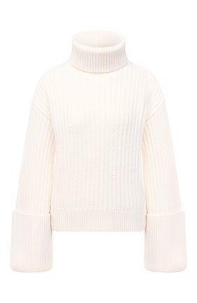 Женский шерстяной свитер THE ROW белого цвета, арт. 5378Y462 | Фото 1