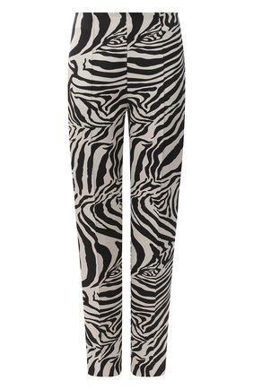 Женские брюки ESCADA черно-белого цвета, арт. 5034249 | Фото 1