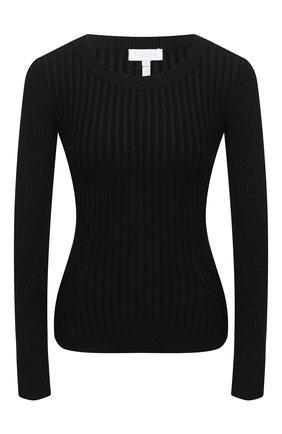 Женский пуловер из вискозы ESCADA SPORT черного цвета, арт. 5033995 | Фото 1