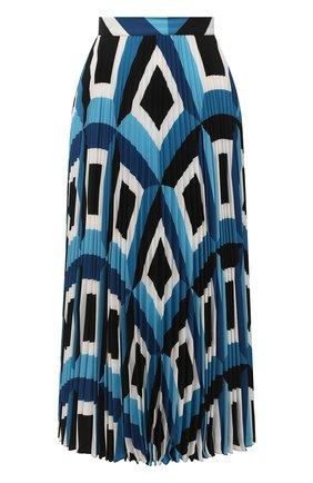Женская плиссированная юбка ESCADA голубого цвета, арт. 5033520 | Фото 1