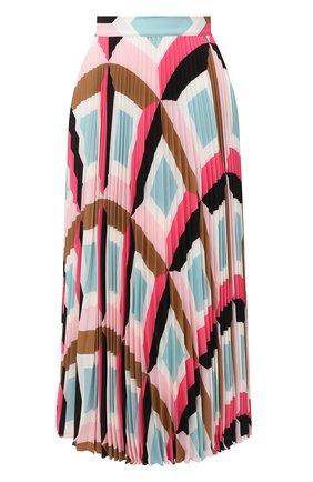 Женская плиссированная юбка ESCADA розового цвета, арт. 5033520 | Фото 1