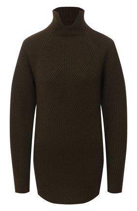 Женский кашемировый свитер THEORY хаки цвета, арт. K0818727 | Фото 1