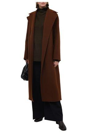 Женский кашемировый свитер THEORY хаки цвета, арт. K0818727 | Фото 2