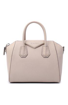Женская сумка antigona small GIVENCHY бежевого цвета, арт. BB05117012 | Фото 1