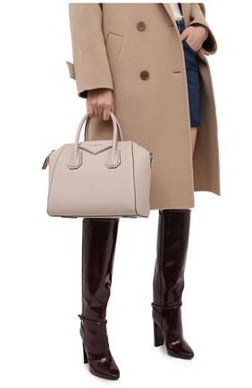 Женская сумка antigona small GIVENCHY бежевого цвета, арт. BB05117012 | Фото 2