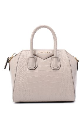 Женская сумка antigona mini GIVENCHY бежевого цвета, арт. BB500JB0LK | Фото 1