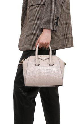 Женская сумка antigona mini GIVENCHY бежевого цвета, арт. BB500JB0LK | Фото 2