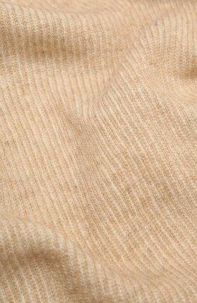 Мужские шарф из шерсти и кашемира INVERNI светло-бежевого цвета, арт. 4269SM | Фото 2