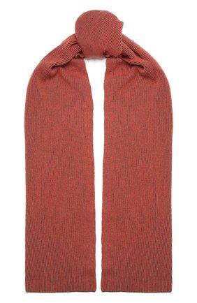 Мужские шарф из шерсти и кашемира INVERNI розового цвета, арт. 4269SM | Фото 1