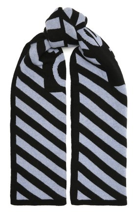 Женский шерстяной шарф OFF-WHITE разноцветного цвета, арт. 0WMA017F20KNI0041001 | Фото 1