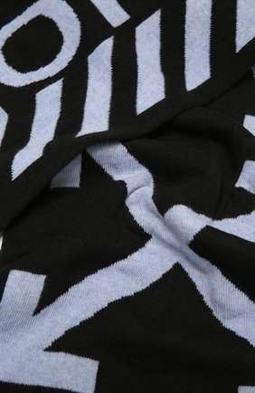 Женский шерстяной шарф OFF-WHITE разноцветного цвета, арт. 0WMA017F20KNI0041001 | Фото 2