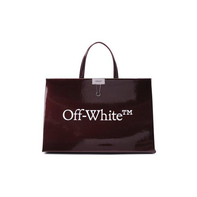 Сумка-шопер Box Off-White