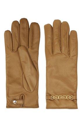 Женские кожаные перчатки BALLY бежевого цвета, арт. L9P0056L-1S134/579 | Фото 2