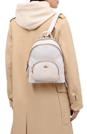 Женский рюкзак carrie small COACH белого цвета, арт. 1029 | Фото 2