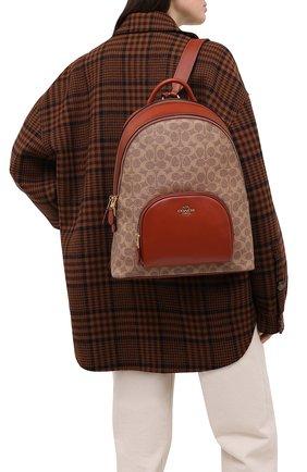 Женский рюкзак carrie COACH коричневого цвета, арт. 1028 | Фото 2