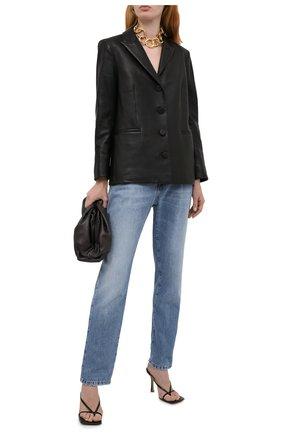 Женские джинсы TOM FORD голубого цвета, арт. PAD057-DEX111 | Фото 2