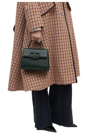Женская сумка valentino garavani vsling VALENTINO зеленого цвета, арт. UW0B0F53/KGW | Фото 2