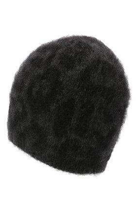 Женская шапка VALENTINO черного цвета, арт. UW0HB00K/600 | Фото 2