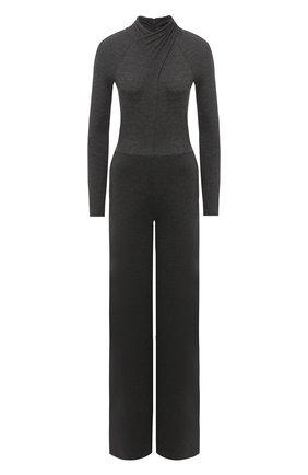 Женский шерстяной комбинезон RALPH LAUREN серого цвета, арт. 290827081 | Фото 1