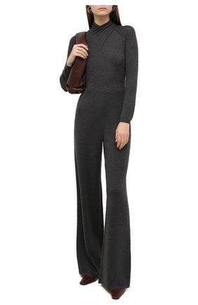 Женский шерстяной комбинезон RALPH LAUREN серого цвета, арт. 290827081 | Фото 2