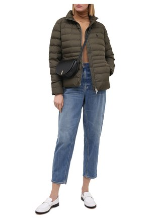 Женская куртка POLO RALPH LAUREN хаки цвета, арт. 211798841 | Фото 2
