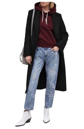 Женская хлопковое худи POLO RALPH LAUREN бордового цвета, арт. 211800246 | Фото 2
