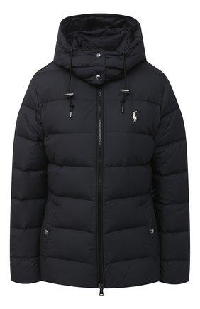 Женский пуховая куртка POLO RALPH LAUREN черного цвета, арт. 211812421 | Фото 1