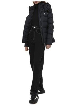 Женский пуховая куртка POLO RALPH LAUREN черного цвета, арт. 211812421 | Фото 2