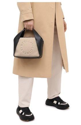 Женская сумка logo STELLA MCCARTNEY черного цвета, арт. 700139/W8731 | Фото 2