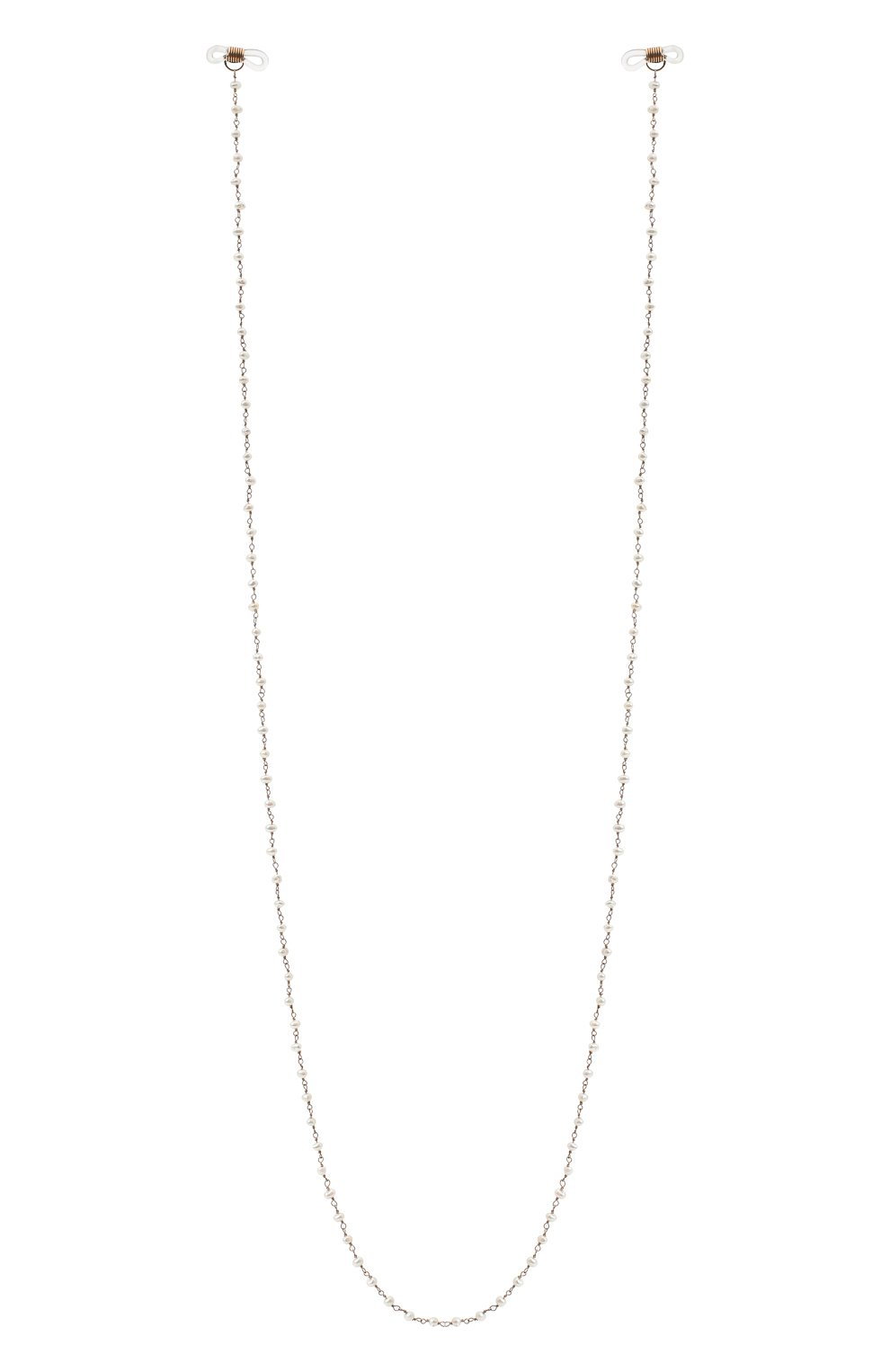Женское колье DZHANELLI серебряного цвета, арт. 1045   Фото 1 (Материал: Серебро)