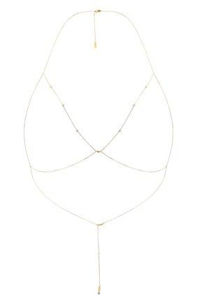 Женское колье DZHANELLI золотого цвета, арт. 057 | Фото 1