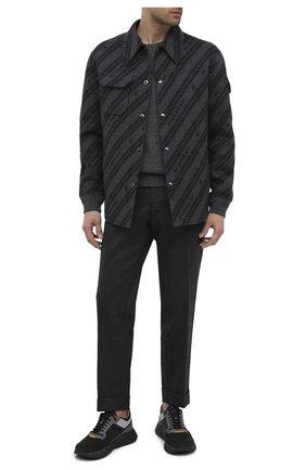 Мужские кроссовки HUGO темно-серого цвета, арт. 50440283 | Фото 2