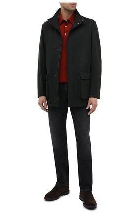 Мужское шерстяное поло LORO PIANA красного цвета, арт. FAF0951 | Фото 2