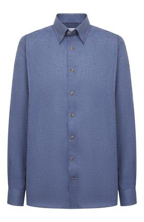 Мужская хлопковая сорочка ETON синего цвета, арт. 1000 01747 | Фото 1