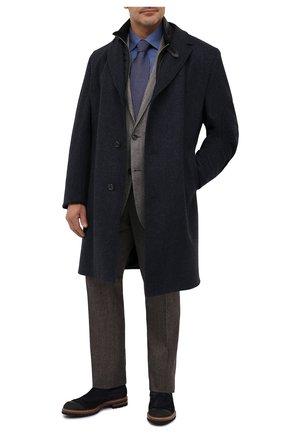 Мужская хлопковая сорочка ETON синего цвета, арт. 1000 01747 | Фото 2