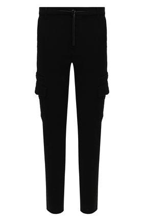 Мужской хлопковые брюки-карго RTA черного цвета, арт. MF0213-38BLK | Фото 1