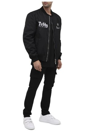 Мужской хлопковые брюки-карго RTA черного цвета, арт. MF0213-38BLK | Фото 2