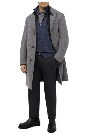 Мужская хлопковая рубашка SONRISA серого цвета, арт. IL7/L1080/47-51 | Фото 2