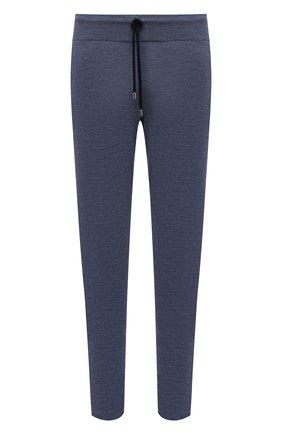 Мужской брюки из шерсти и кашемира FIORONI голубого цвета, арт. MK00T0F2 | Фото 1