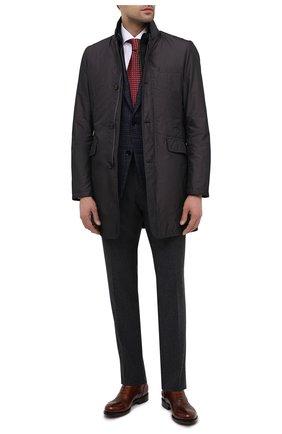Мужская комплект из пальто и жилета shinjuku-km MOORER темно-серого цвета, арт. SHINJUKU-KM/A20M390SHA1 | Фото 2