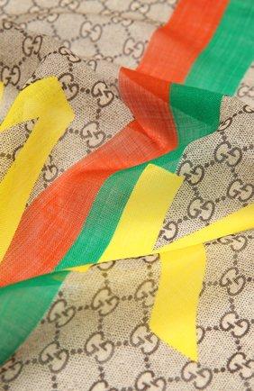 Шерстяной шарф «Fake/Not» | Фото №2