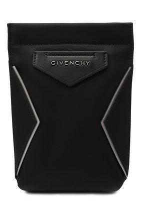 Мужская текстильная сумка antigona GIVENCHY черного цвета, арт. BKU00XK11B   Фото 1