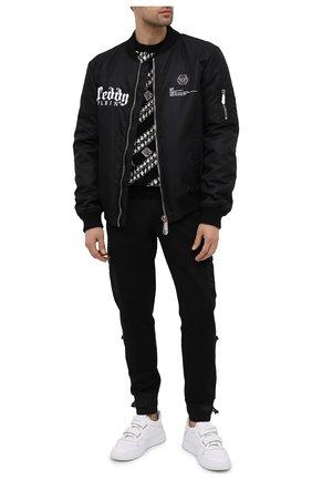 Мужской шерстяной свитер GIVENCHY черного цвета, арт. BM90EE4Y6Q | Фото 2